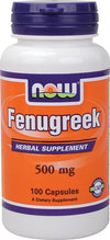 NOW Fenugreek 500mg (100caps)