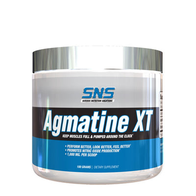 Agmatine XT Powder Bottle Front