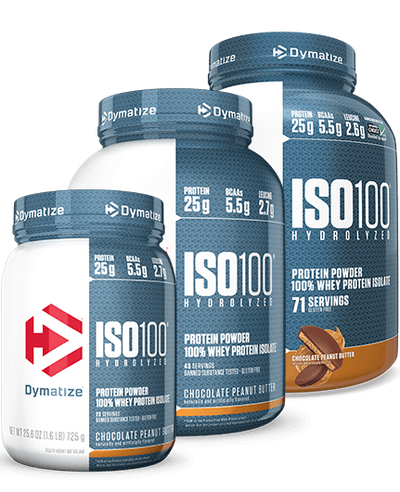 Dymatize ISO100 Chocolate Peanut Butter