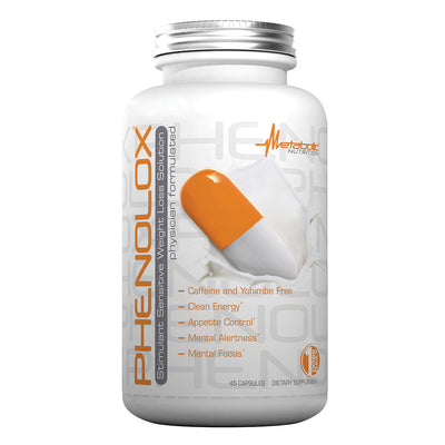 Phenolox Diet Pill Metabolic Nutrition