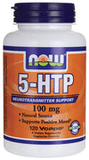 NOW 5-HTP 100mg (120vcaps)