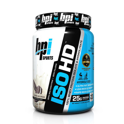 bpi iso-hd cookies n cream 2 lbs