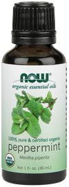 NOW Organic Peppermint Oil