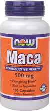 NOW Maca 500mg (100caps)