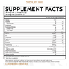 Inspired Nutraceuticals Protein+ Chocolate Cake Supplement Facts