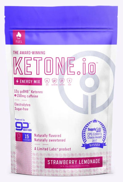 ketone io energy mix strawberry lemonade