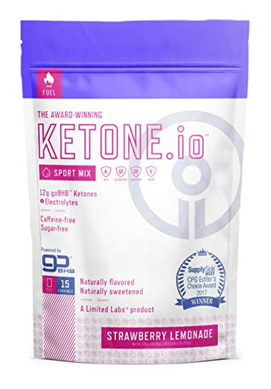 ketone IO Sport Mix Strawberry lemonade