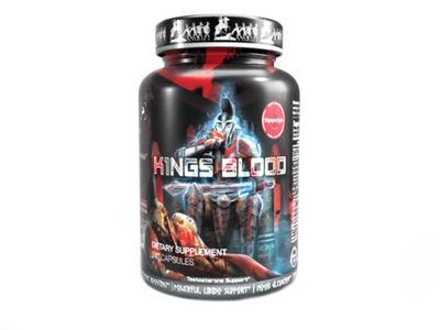 K1ngs Blood Bottle Front