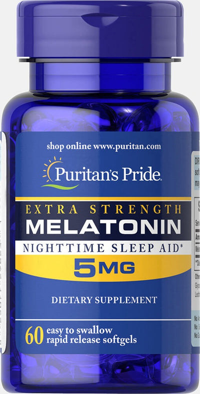 Puritan's Pride Extra Strength Melatonin 5mg