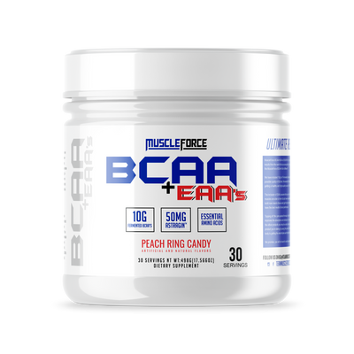 MuscleForce Bcaa+Eaa's Peach Ring Candy