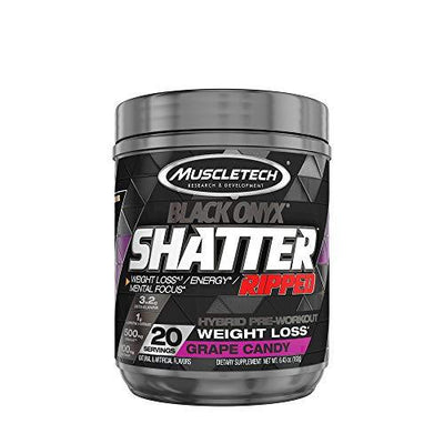 Muscletech Black Onyx Shatter Ripped Grape Candy