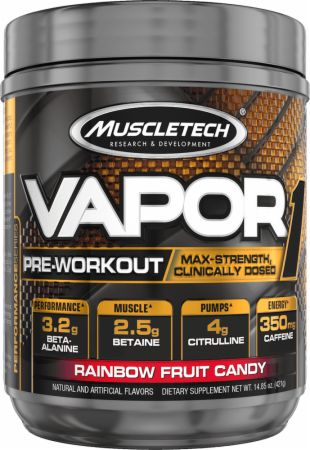 Muscletech Vapor1 Rainbow Fruit Candy