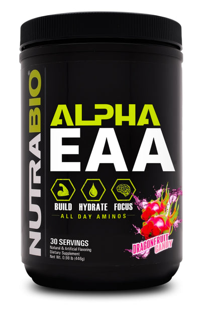 Nutrabio Alpha Eaa 30 Servings Dragon Fruit Candy