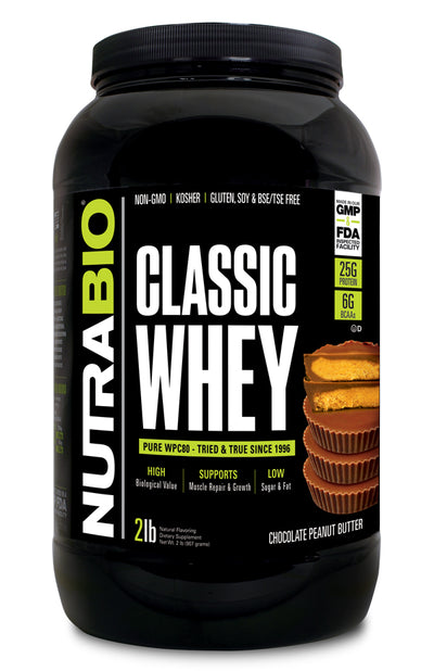 Nutrabio Classic Whey Chocolate Peanut Butter