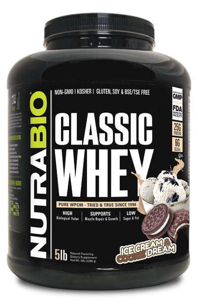 Nutrabio Classic Whey Ice Cream & Cookie Dream