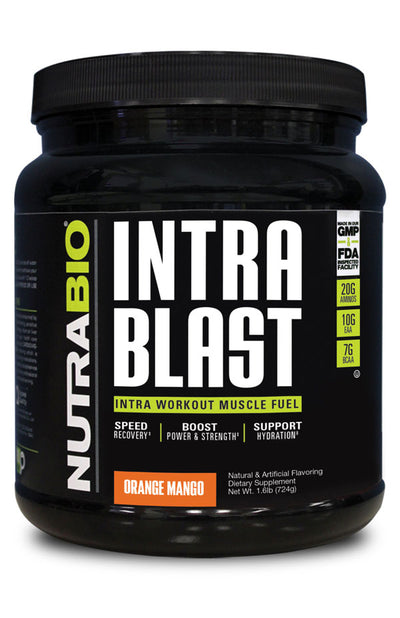 Nutrabio Intra Blast Orange Mango