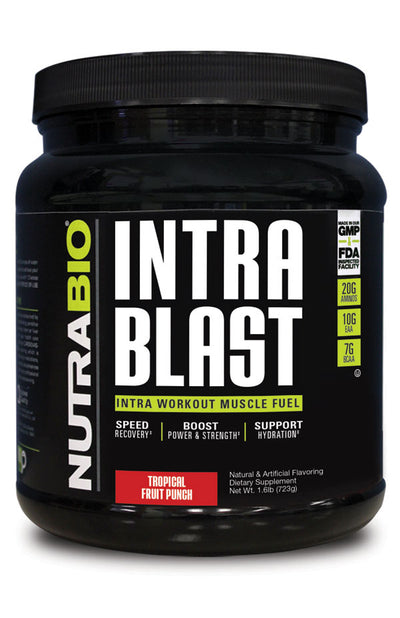 Nutrabio Intra Blast Tropical Fruit Punch