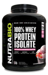 Nutrabio 100% Whey Protein Isolate 5lb Strawberry Ice Cream