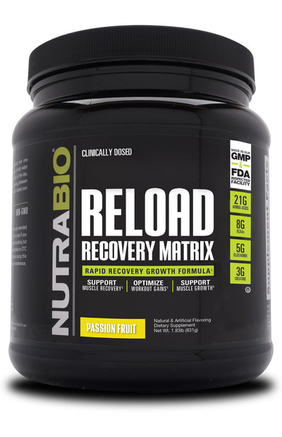 nutrabio Reload Recovery Matrix Passion Fruit