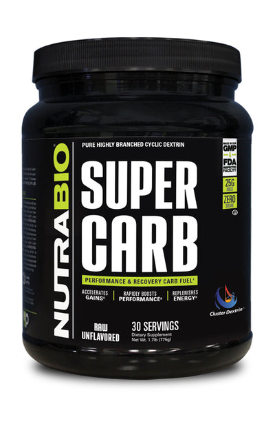 Nutrabio Super Carb Raw Unflavored