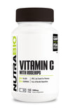 Nutrabio Vitamin C With Rosehips 150Caps