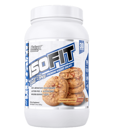 Nutrex IsoFit 2lb Peanut Butter Toffee