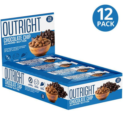 MTS Outright Chocolate Chip Almond Butter Bars