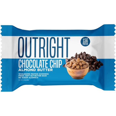 MTS Outright Chocolate Chip Almond Butter Bar
