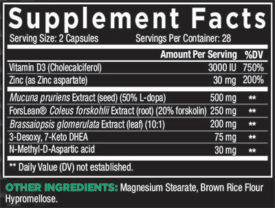 core alpha supplement facts