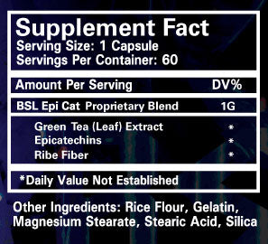 EpiCat Nutrition Facts