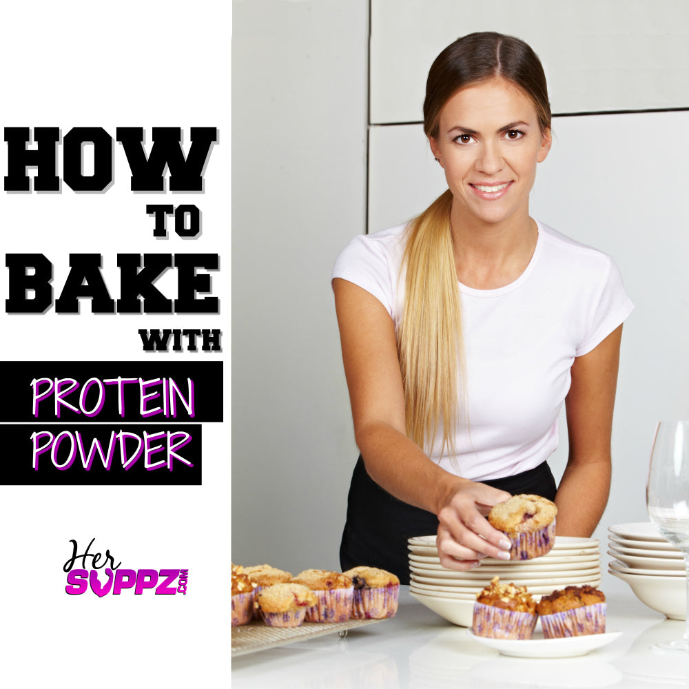 how to bake with protein powder