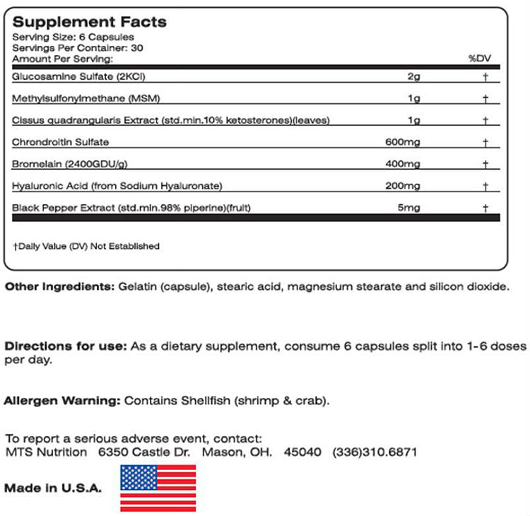 Machine Motion Nutrition Facts