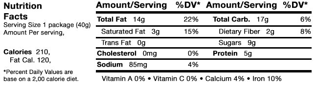 Caveman Bar Dark Chocolate Almond Coconut Nutrition Facts