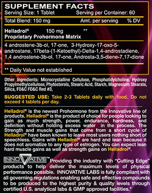 innovative labs helladrol supplement facts