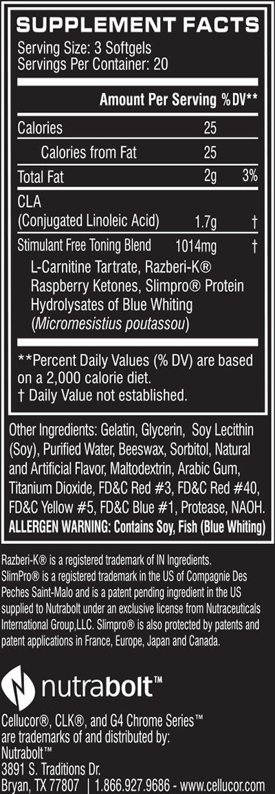 clk nutrition facts