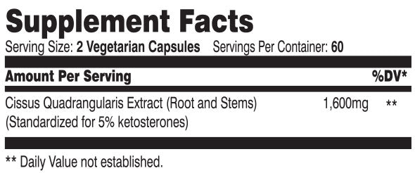 cissus xt suppfacts