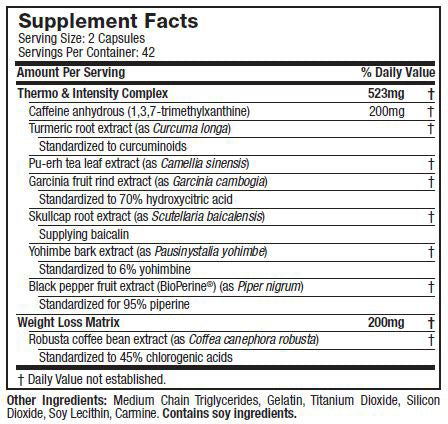 Epiq Slash Nutrition Facts