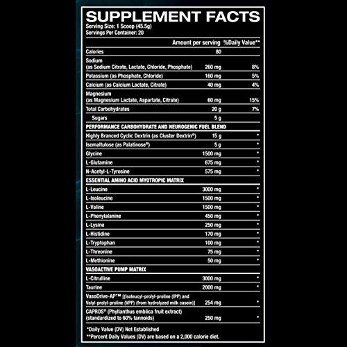 recovery factor supplement facts