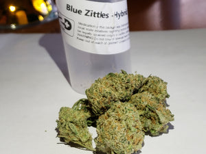 Strain Review Blue Zittles