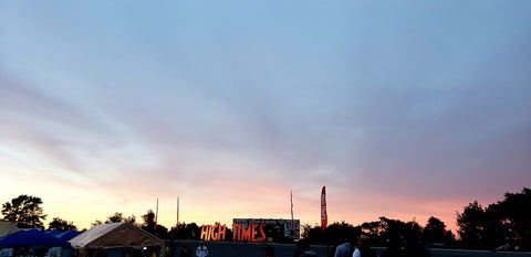 Sunset At Cannabis Cup