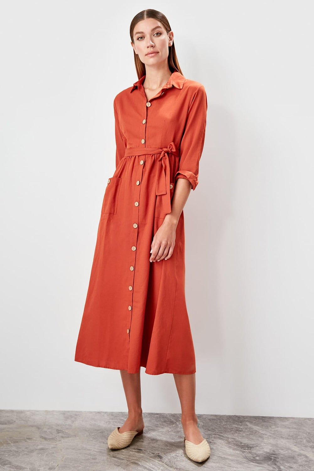 Miss Zut Miss Zut Tile Shirt Dress Dress Miss Zut &CO