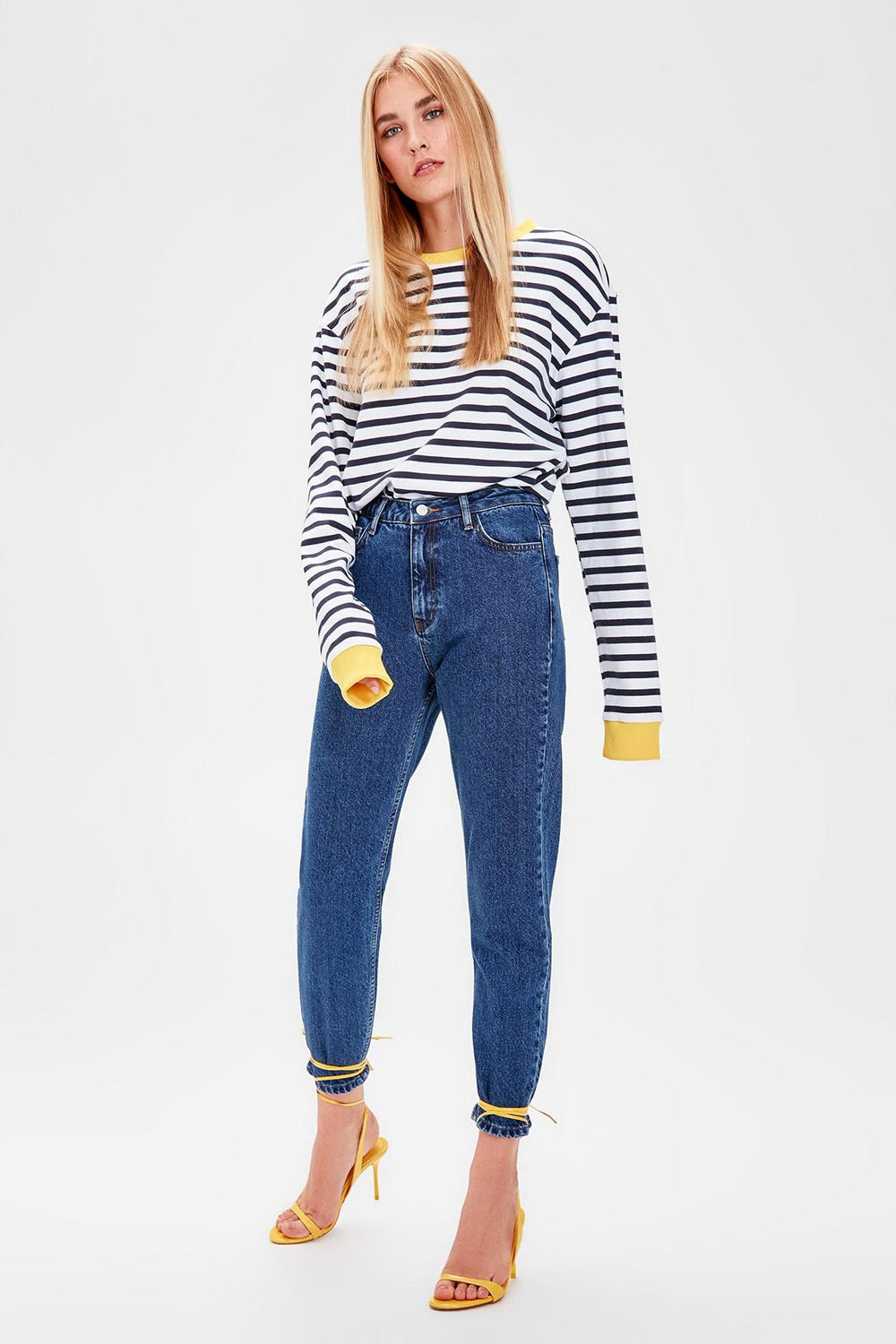 Miss Zut Miss Zut Indigo High Bel Mom Jeans Miss Zut &CO