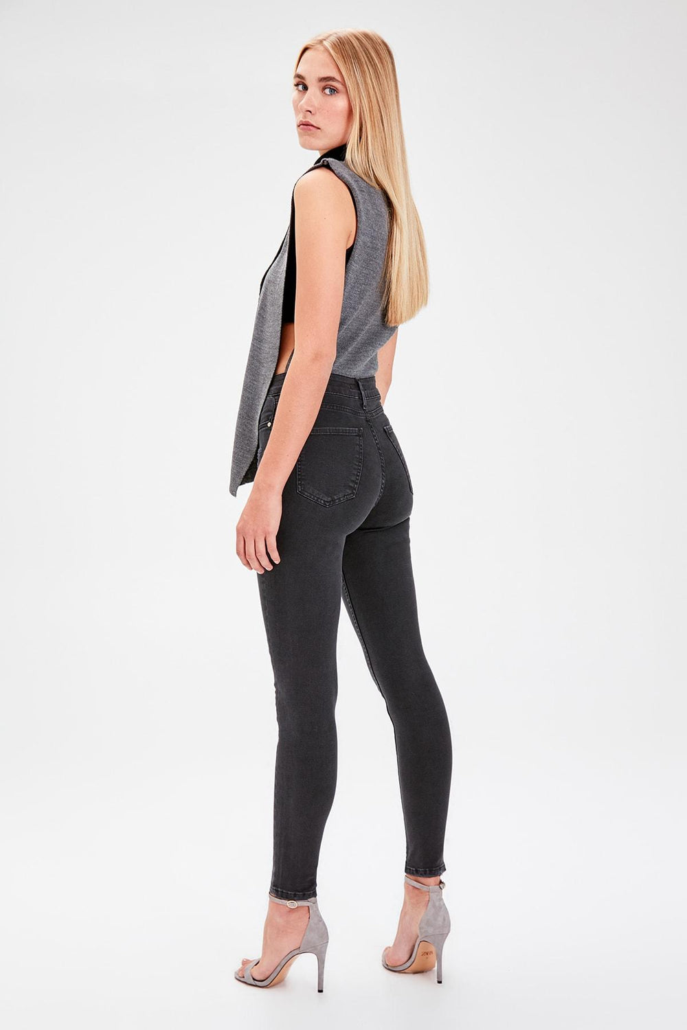 Miss Zut Miss Zut Black Yu0131pratmalu0131 High Waist Skinny Jeans Miss Zut &CO