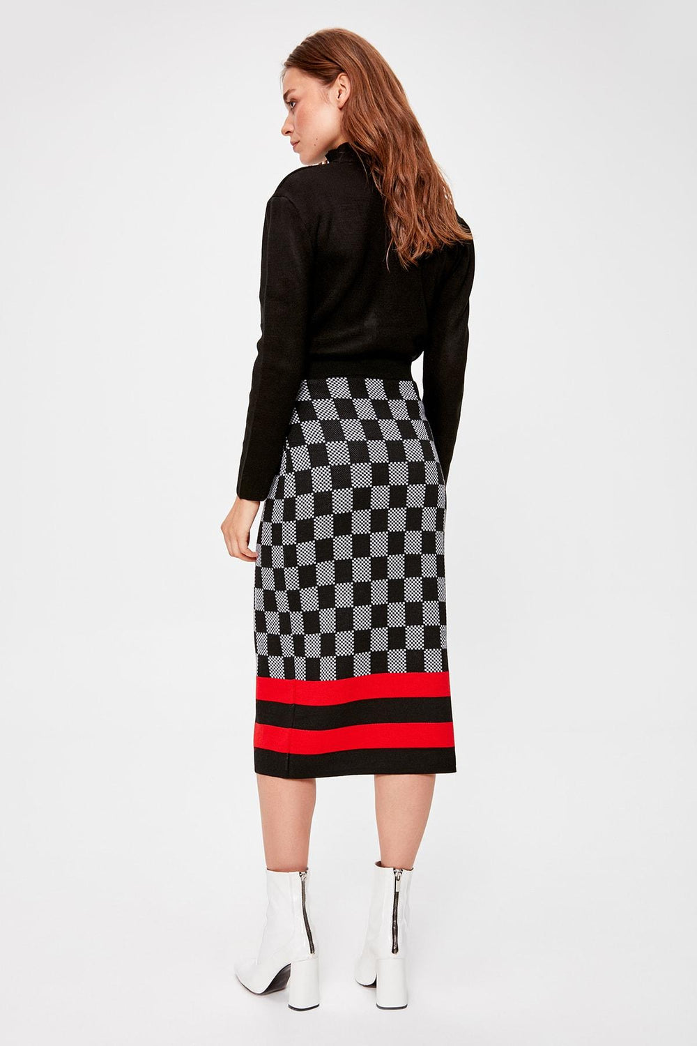 Miss Zut Miss Zut Black Sweater Skirt Miss Zut &CO