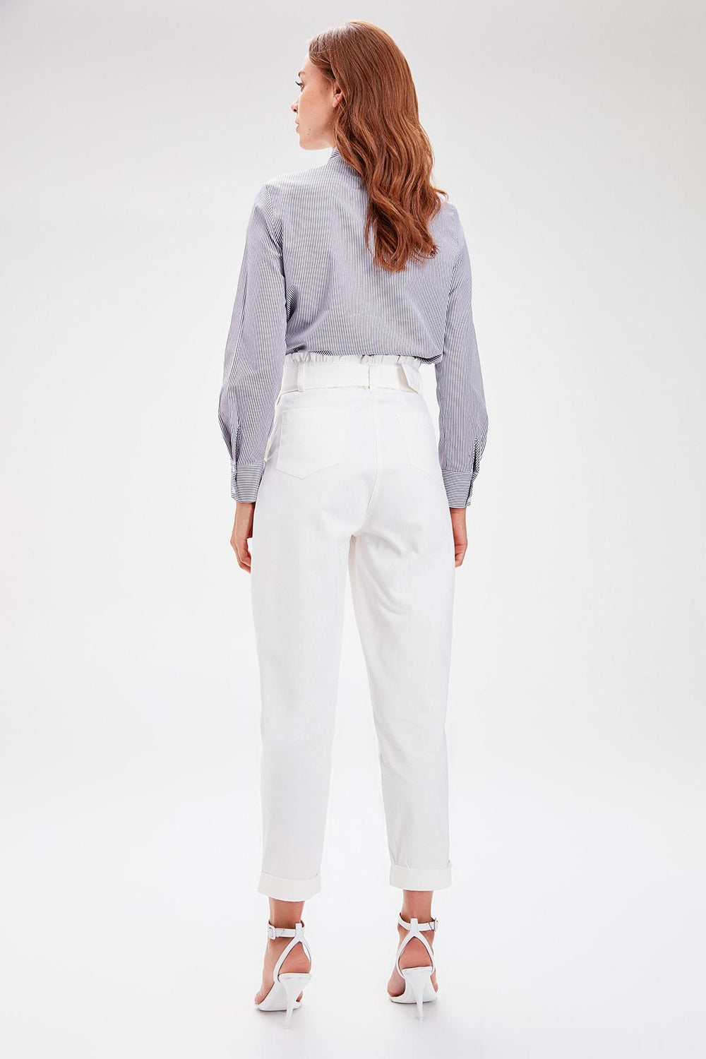 Miss Zut Miss Zut White Arched Pants Miss Zut &CO