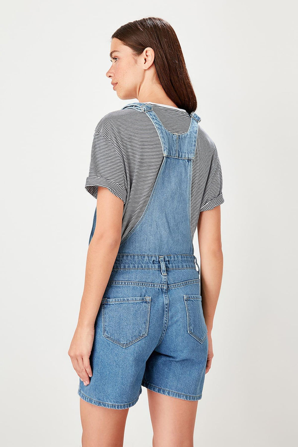 Miss Zut Miss Zut Blue Denim Jumpsuit Miss Zut &CO