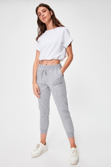 Miss Zut Miss Zut Pockets Knit Sweatpants Miss Zut &CO