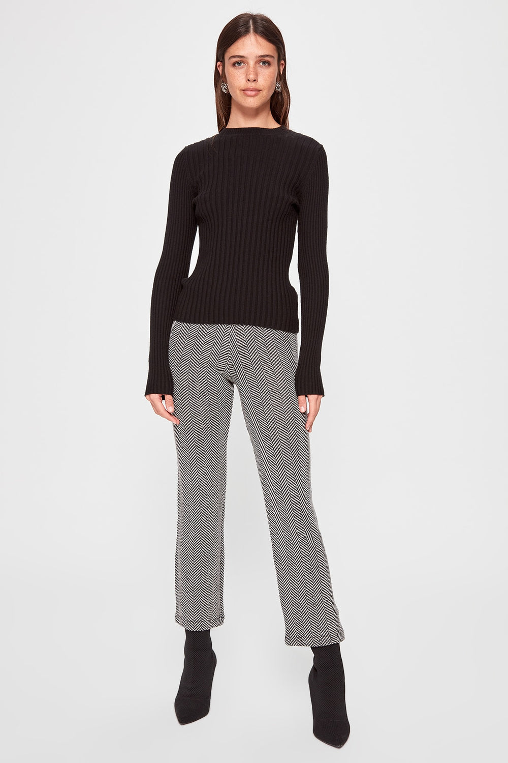 Miss Zut Miss Zut Striped Sweater Pants Miss Zut &CO