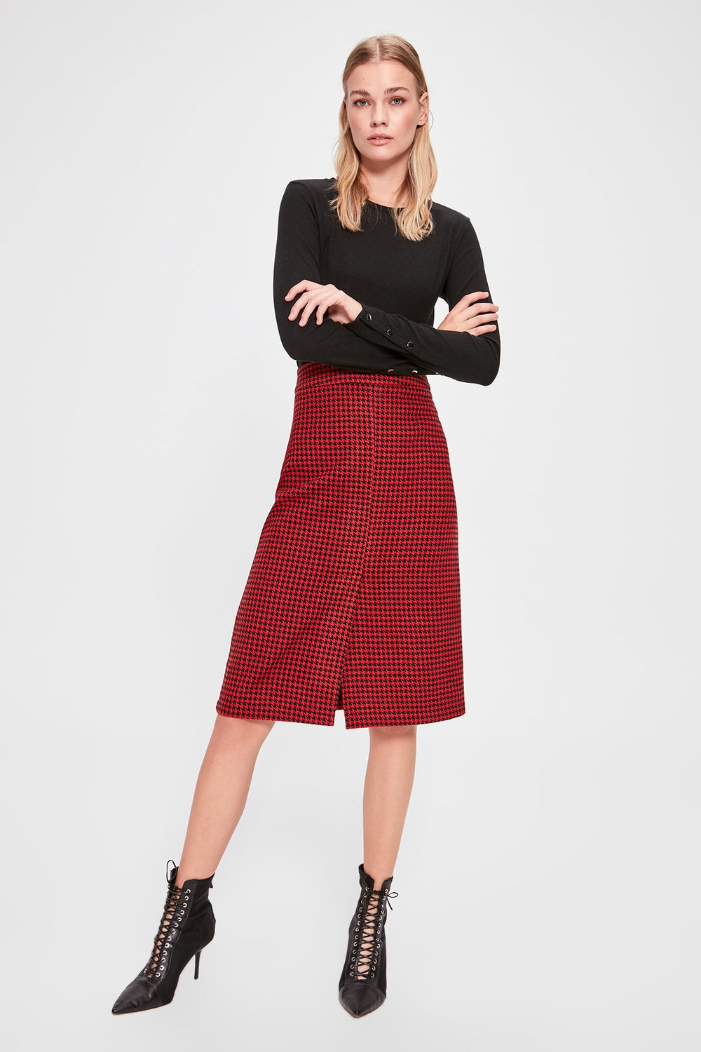 Miss Zut Miss Zut Checkered Skirt Miss Zut &CO