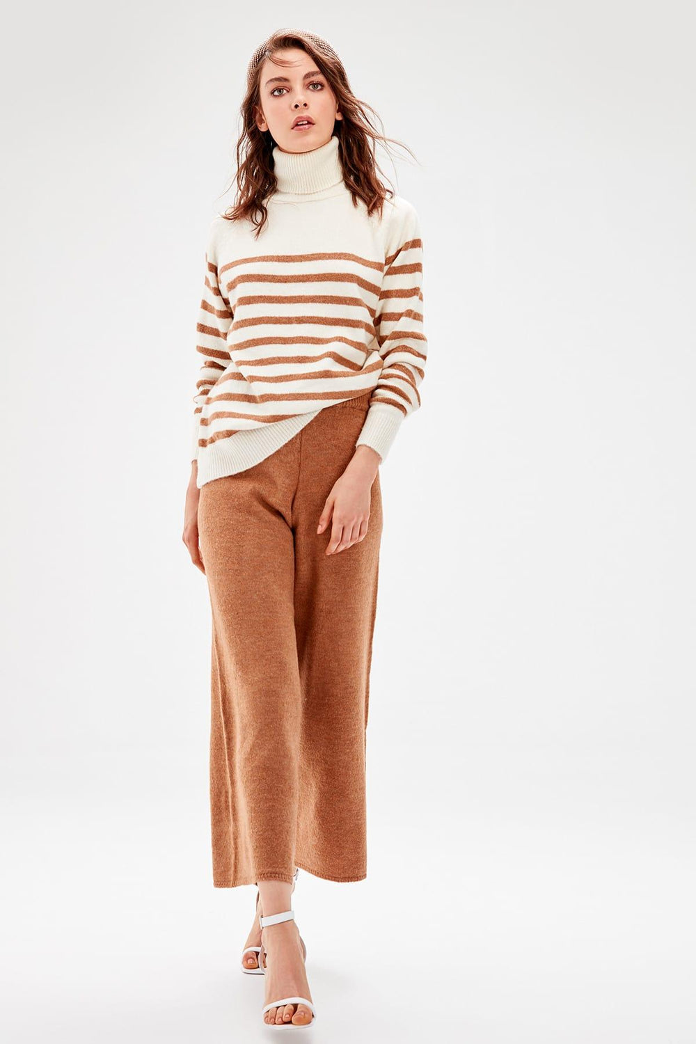 Miss Zut Miss Zut Petrol Flare Pants Miss Zut &CO